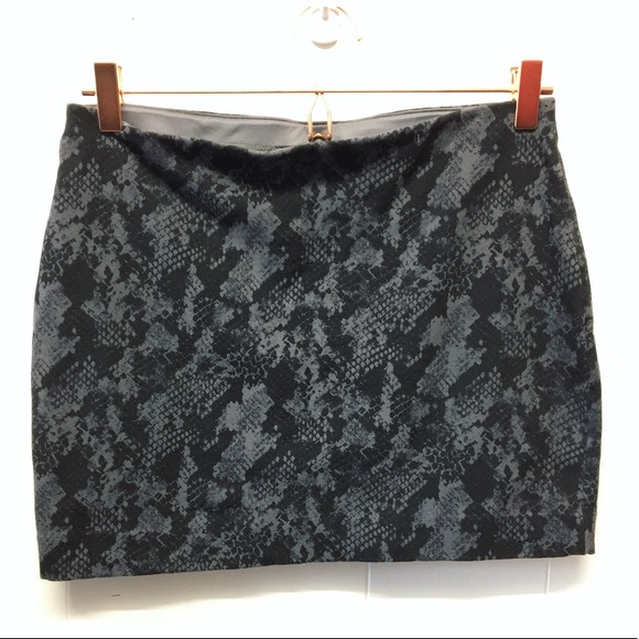 Express Dresses & Skirts - Express | Python Print Stretch Mini Skirt
